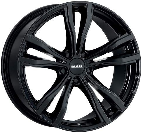 10,0x20 5x120 ET40 DIA74,1 Gloss Black MAK X-Mode